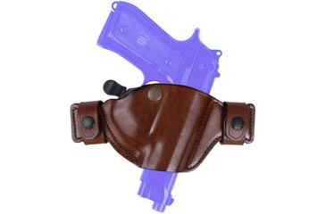 Bianchi 84 SnapLok Holster - Plain Black, Right Hand 22988