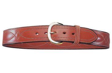 Bianchi B21 Contour Belt - Plain Tan, Brass 13727