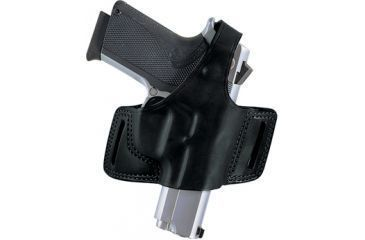 Bianchi Black Widow #5 Holster, Black, Right Hand - Ruger SP101 - 23844