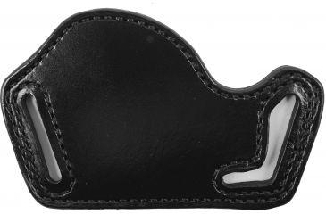 Bianchi Foldaway Belt Holster, Model 10 - Black, Left Hand - 25215