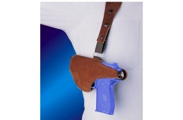 1-Bianchi 215 Hawk Shoulder Holster - Suede, Left Hand 15552