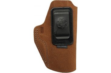 Bianchi Waistband Holster - Rust Suede, Right 18842