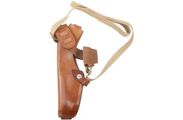 Bianchi X15 Shoulder Holster, Tan, Left 12363