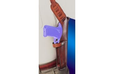 Bianchi X15 Shoulder Holster - Plain Tan, Right Hand 22208