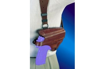 Bianchi X16L Agent X Shoulder Rig (Lined) Holster - Plain Tan, Right Hand 17282