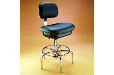 Bio Fit Cleanroom/ESD Chairs, 1P Series, BioFit 1P61-1000 Class 1000 Cleanroom Chairs (Ship Now! Models)