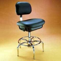 Bio Fit Cleanroom/ESD Chairs, 1P Series, BioFit 1P62KVUV Class 100 Cleanroom/ESD Chairs (Ship Now! Models)