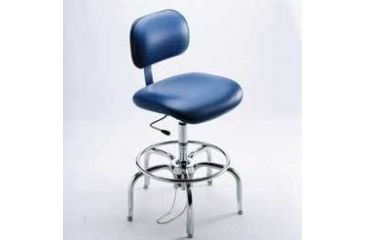 Bio Fit Cleanroom/ESD Chairs, 4P Series, BioFit 4P57-C1-KSTR Class 1 Cleanroom/ESD Chairs