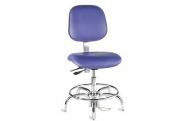 Bio Fit Cleanroom/ESD Chairs, 4V Series, BioFit 4V61-1000 Class 1000 Cleanroom Chairs (Ship Now! Models)