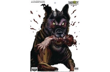Birchwood Casey Darkotic Splattering Targets 12x18 Inches Go Fetch 50 Per Pack Shrink Wrapped