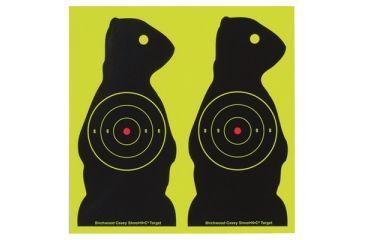 Birchwood Casey Shoot-N-C Targets 7 Inch Prairie Chuck 12 Per Pack 34776