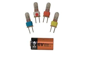 Black Diamond 6-volt Battery a544 BD6205190000ALL1
