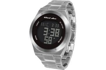Black Dice Slick Men's Watch - Black Display, SS Case and Wristband BLABD-061-01