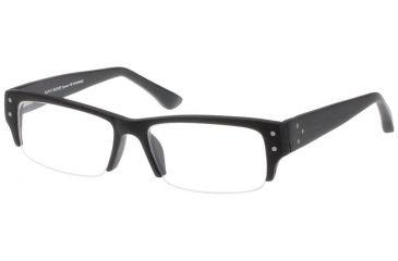Black Forever Bk582 582 Bifocal Shiny Mat Wood Black Frames