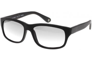 Black Forever BK620 Progressive Glasses - Mat Wood Black