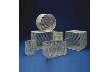 Black Machine Baskets, Epoxy-Coated Aluminum E101/I Rectangular