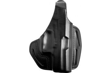 BlackHawk 3 Slot Leather Pancake Holster-H&K P2000/USP Comp
