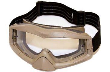 BlackHawk A.C.E. Tactical Goggles, Coyote Tan w/Clear Lens 85AC00CT
