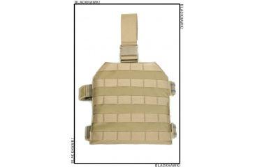 BlackHawk Ballistic Drop Leg w/Level IIIA Soft Armor 32BA02