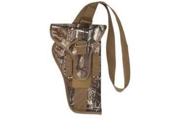 BlackHawk Bandolier Scoped Handgun Holster, Small, Ambidextrous Realtree AP, 74BH03R3