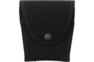 BlackHawk Compact Snap Button Plain Black Single Hand Cuff Case 44A151BK