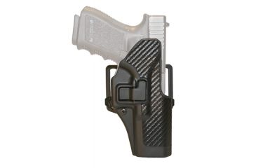 Blackhawk SERPA CQC Belt Loop/Paddle Holster, Right Hand, Carbon Black - Caracal F - 410043BK-R