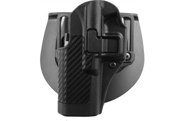 BlackHawk CQC SERPA Beltloop/Paddle Holster, Left Carbon Black  410000BKL