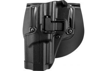 BlackHawk CQC SERPA Beltloop/Paddle Holster, Matte Black, Left Hand - FN 5.7