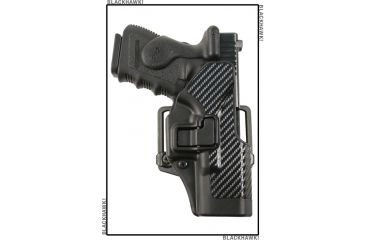 BlackHawk CQC SERPA Holster - Active Retention - Carbon Fiber Finish 4100