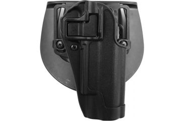 BlackHawk CQC SERPA Holster Beltloop,  Paddle, Right,  Black 410503BKR