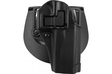 BlackHawk CQC SERPA Holster, Beltloop, Paddle, Right, Black, 410513BKR
