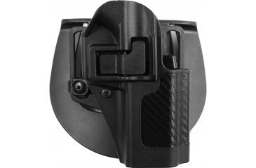BlackHawk CQC SERPA Holster Beltloop,  Paddle, Right, Carbon Black 410041BKR