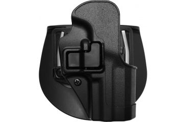BlackHawk CQC SERPA Holster w/ Beltloop & Paddle, Right Hand, Black, H&K P-2000, Black