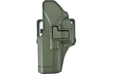 BlackHawk CQC SERPA Holster w/ Belt Loop & Paddle, Left Hand, Olive Drab, Glock 17/22/31