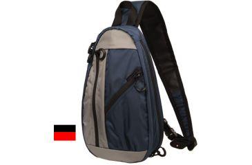 BlackHawk Diversion Carry Slingpack, Black and Red 65DC65BKRD