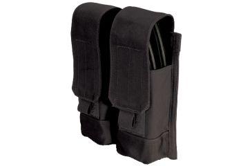 BlackHawk MOLLE System AK47 Double Mag Pouch - Black