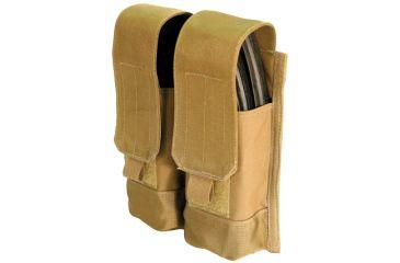 BlackHawk MOLLE System AK47 Double Mag Pouch - Coyote Tan