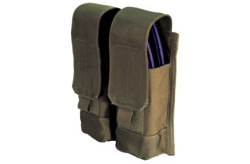 BlackHawk MOLLE System AK47 Double Mag Pouch - Olive Drab
