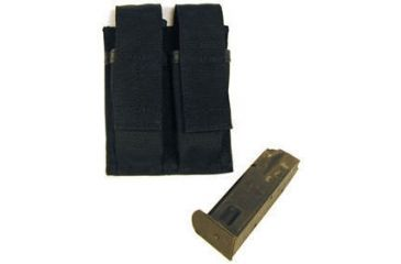 BlackHawk Duty Double Pistol Mag Pouch Black 51PM00BK