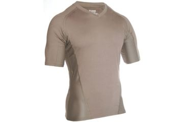 Blackhawk Engineered Fit Shirt, Short Sleeve, Vneck, Foliage Green, Small, 84BS03FG-SM