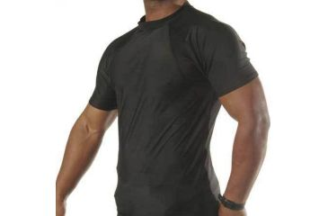 Blackhawk engineered fit shirt with short sleeve and crew for Mock crew neck shirts