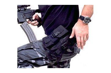 BlackHawk Enhanced M-16 Mag Hip Pouch Holds 4 Bk 511604BK
