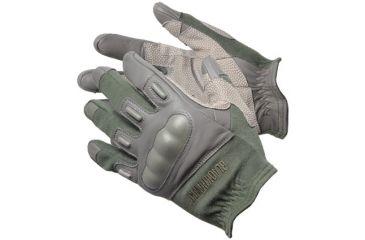 BlackHawk Fury Commando HD Gloves w/ Kevlar, Olive Drab, Large