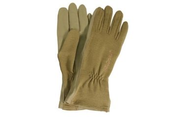 Blackhawk HellStorm AVIATOR Nomex Flight Gloves, XL, Coyote Tan