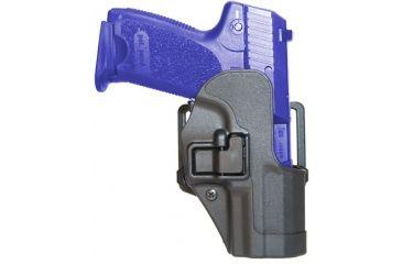 BlackHawk CQC CF Holster w/ BL & Paddle - Serpa- LT - w/Matte Finish Black, Glock 26/27/33