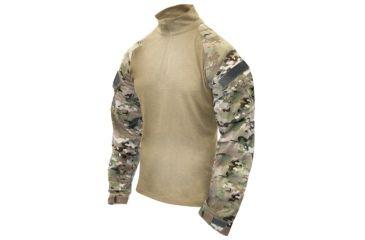 BlackHawk HPFU Slick Combat Shirt w/ Long Sleeves, MultiCam