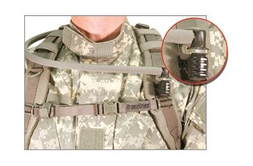 1-BlackHawk HydraStorm Bite Valve Protection System, Coyote Tan 67BP00CT