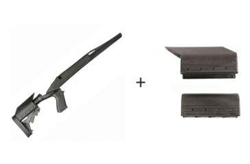 BlackHawk Knoxx Axiom Ultra-Light Rifle Stock for Remington 700 Short Action w/ BlackHawk Knoxx Axiom Cheek Piece Adapter