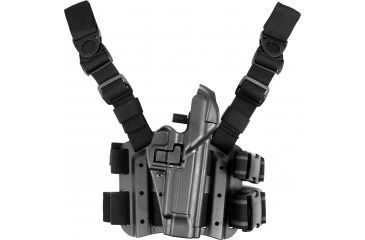 12-Blackhawk SERPA Tactical Level 3 Thigh Holster
