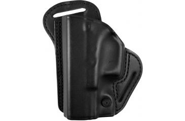 BlackHawk Leather Check-Six Holster, Left Hand, Black - Glock 17/19/22/23